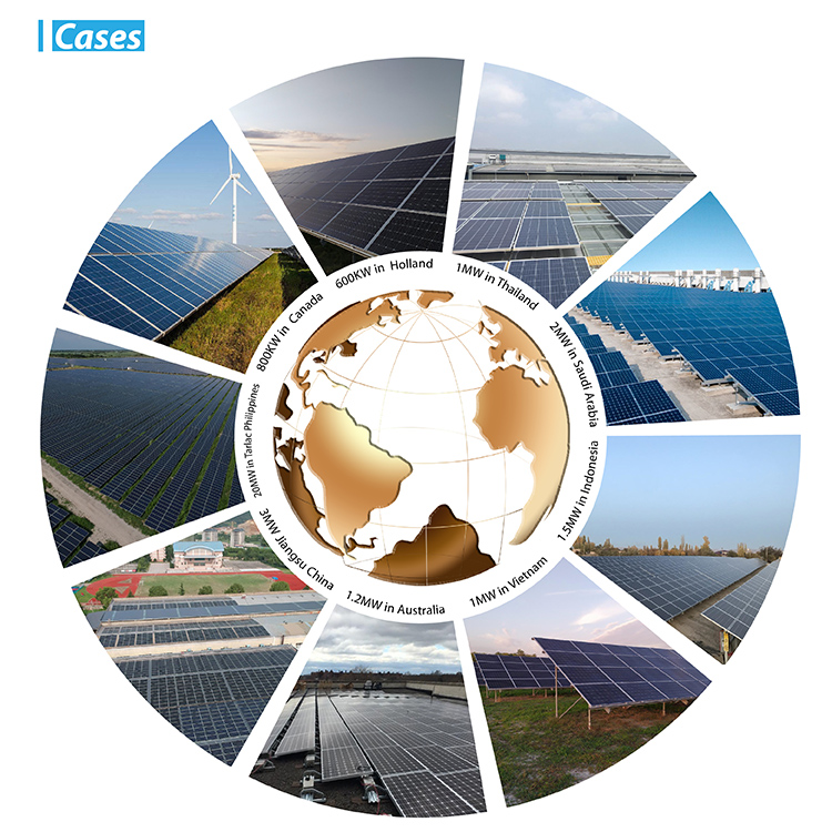 solar power plants world