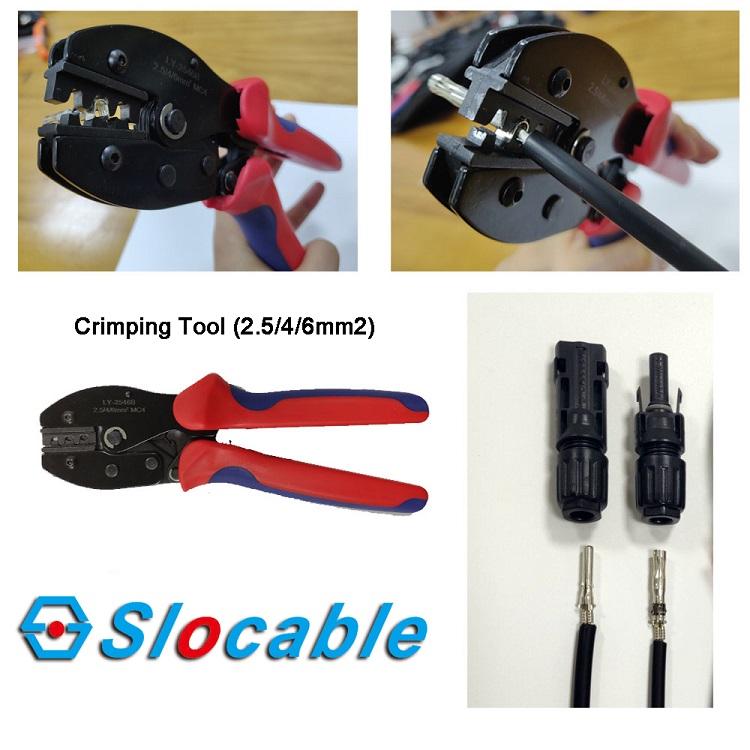 mc4 connector crimping tool