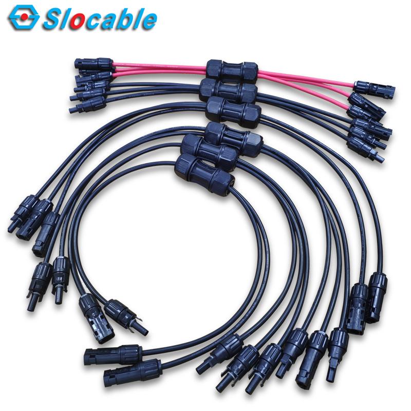memanjangkan kabel panel solar