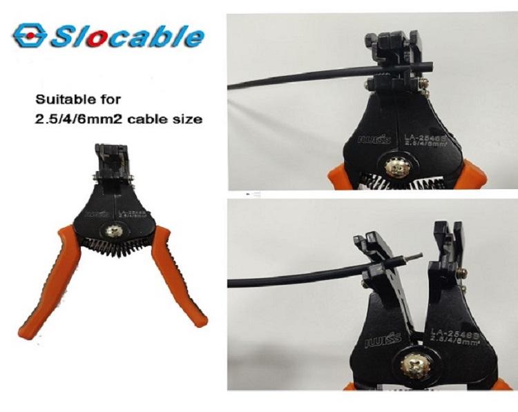 solar cable stripper