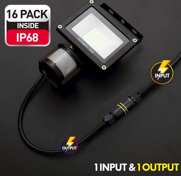 ip68 connectors waterproof