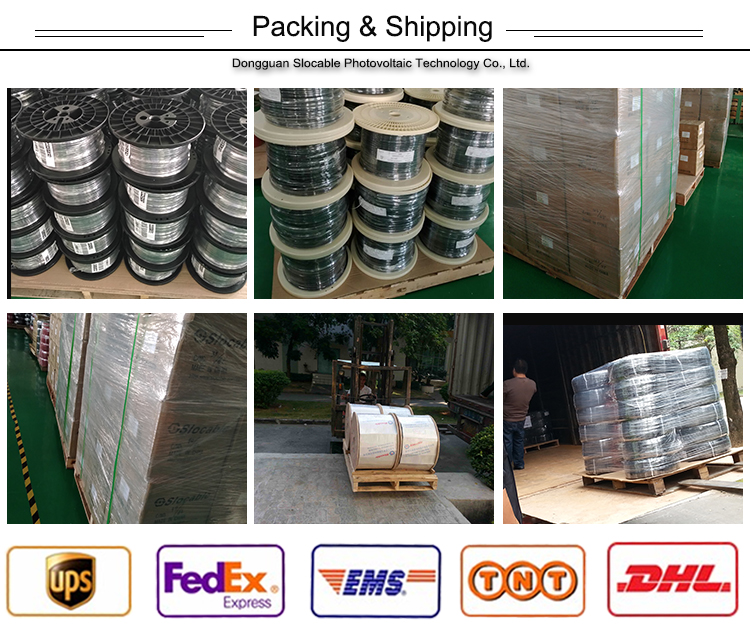 solar cable and mc4 connector shipping