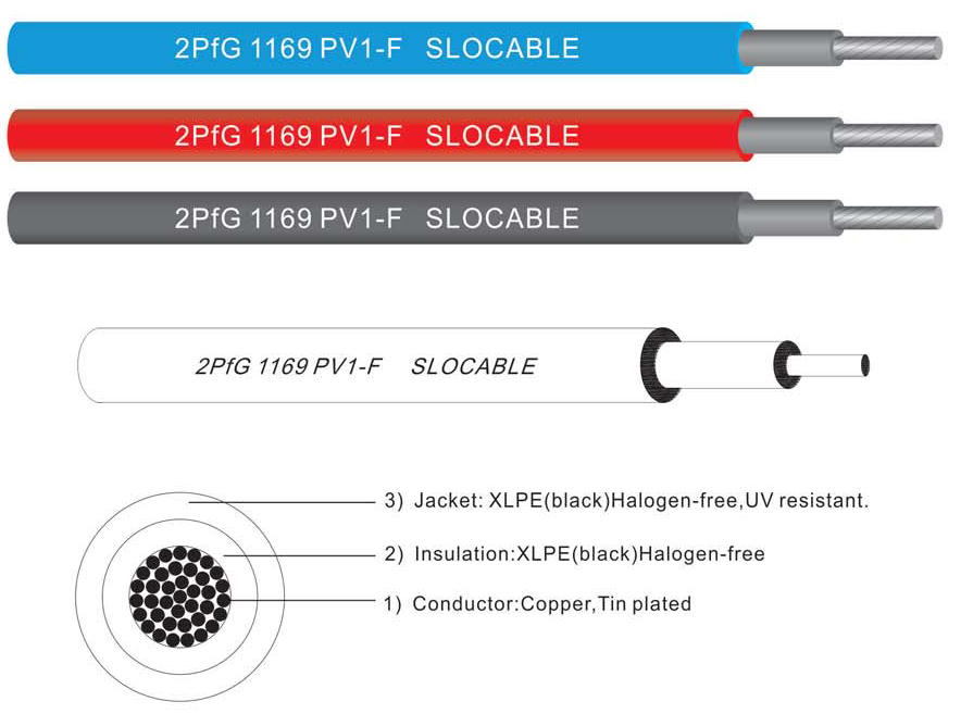 1x4mm2 Solar Cable