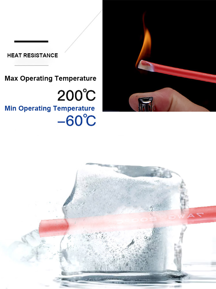 rubber cable operating temperature