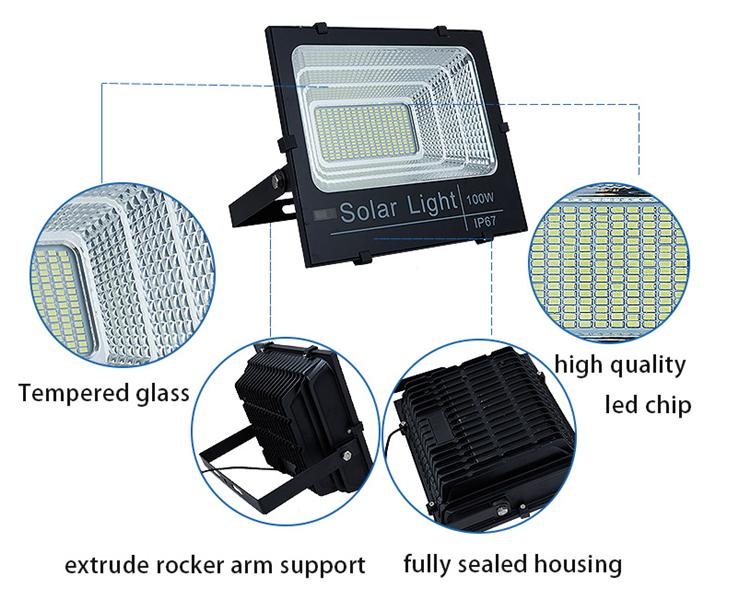 solar flood light advantages