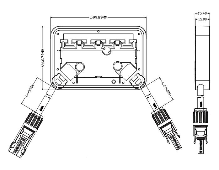 solar junction box details